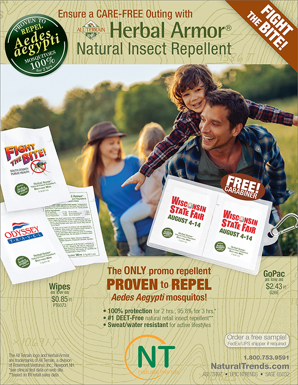 FIGHT ZIKA with the ONLY CERTIFIED promo repellent, from Natural Trends